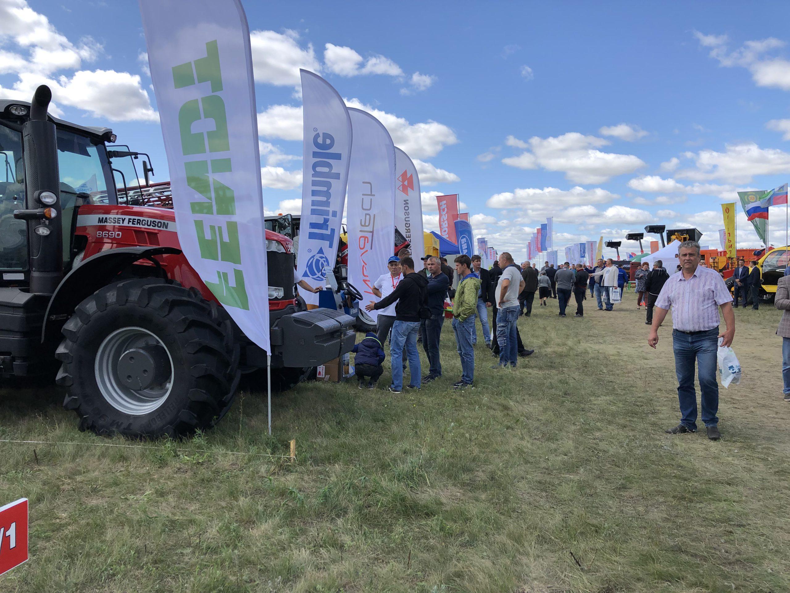 Компания приняла участие во Всероссийском Дне поля в Волгоградской области