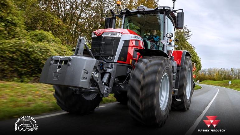 Трактор Massey Ferguson 8S получил звание «Трактор 2021 года»